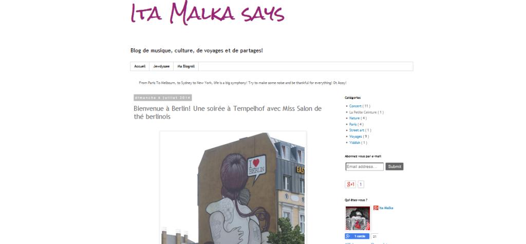 ita-malka-says