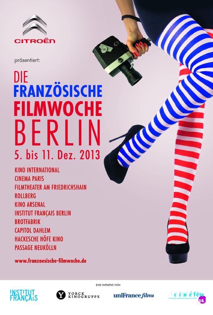 Semaine du film francais de Berlin