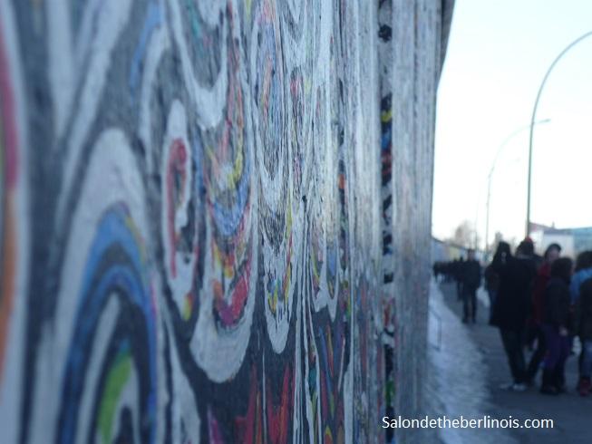 week-end en groupe sur Berlin à la East Side Gallery