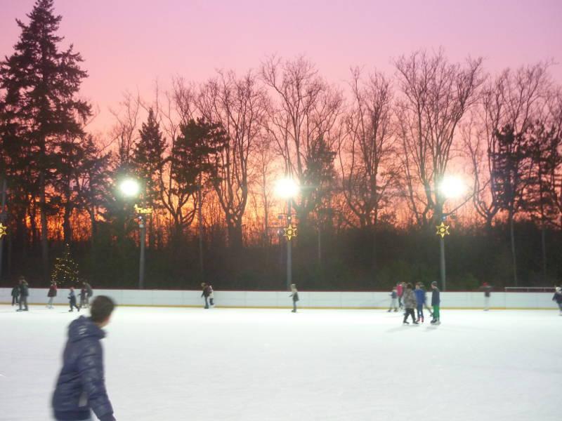La patinoire de Neukölln