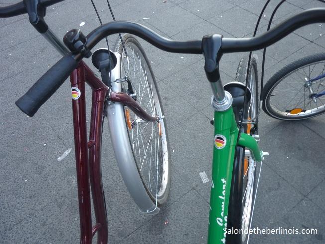 week-end en groupe sur Berlin en vélo