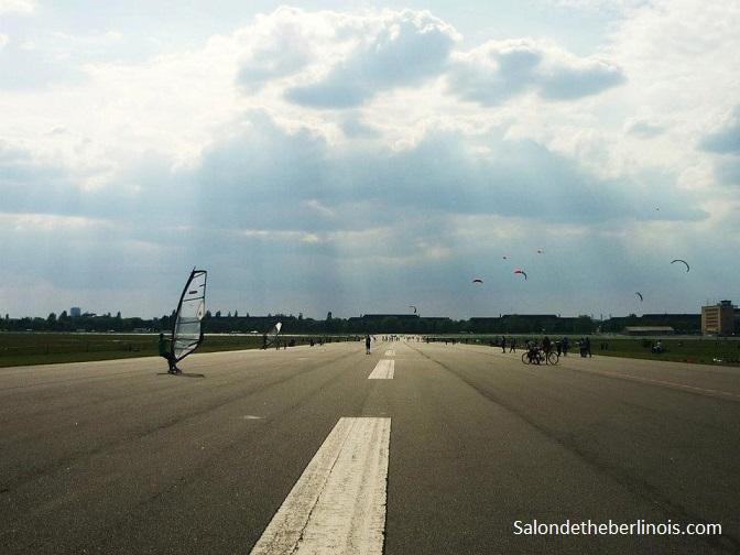 week-end en groupe sur Berlin à Tempelhof