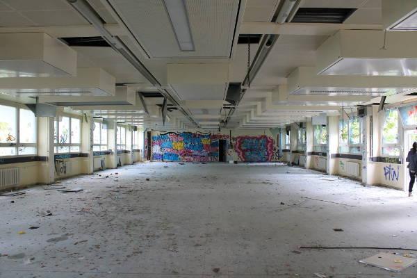 salle abandonnée