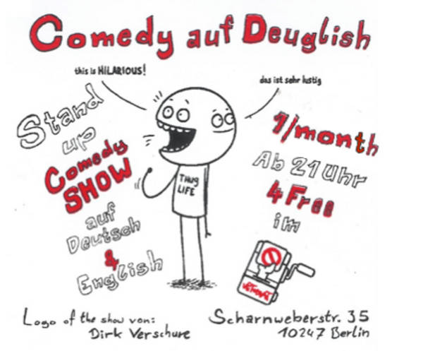 Comedy auf Deuglish
