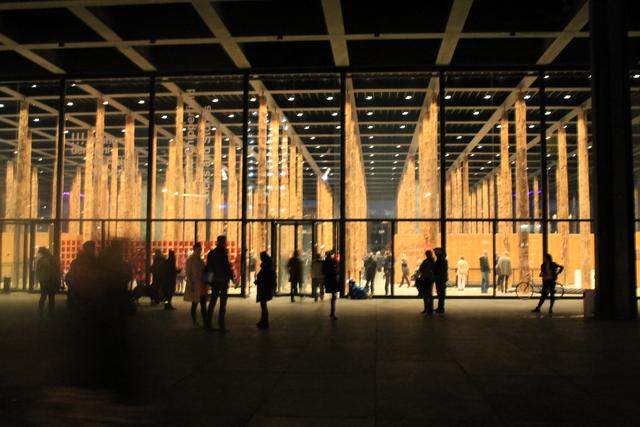 neue nationalgalerie david Chipperfield Sticks and Stones