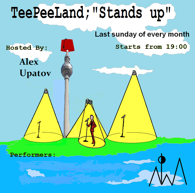 Teepeeland stands up