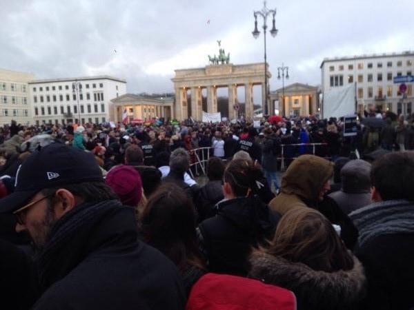 rassemblement je suis charlie Berlin