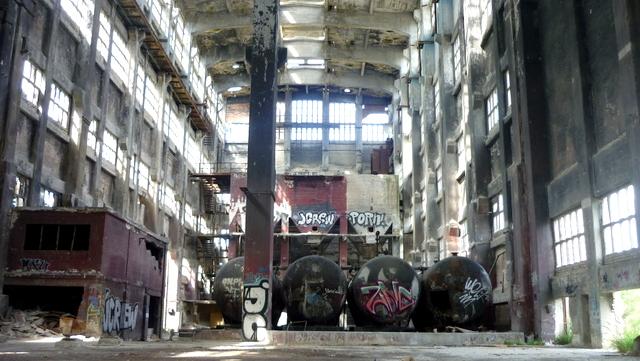 usine chimique abandonnée Berlin