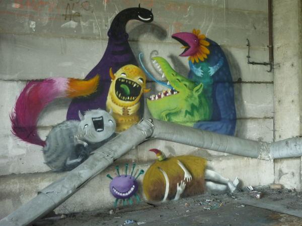 Urbex monstres Berlin